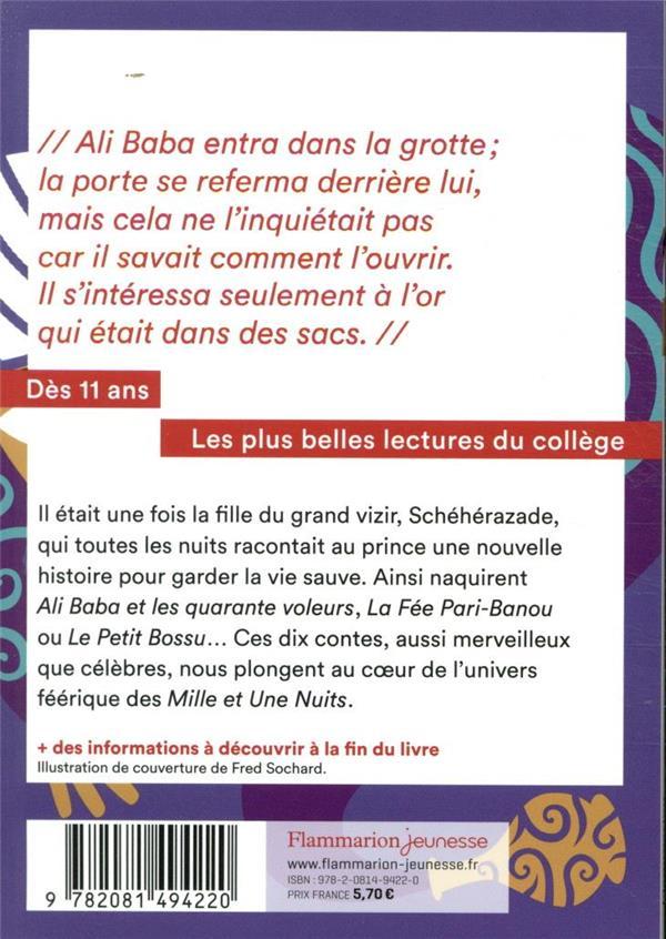 10 contes des Mille et une Nuits
