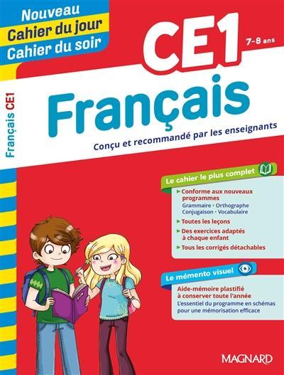 Cahiers du jour/ soir ; français ; CE1