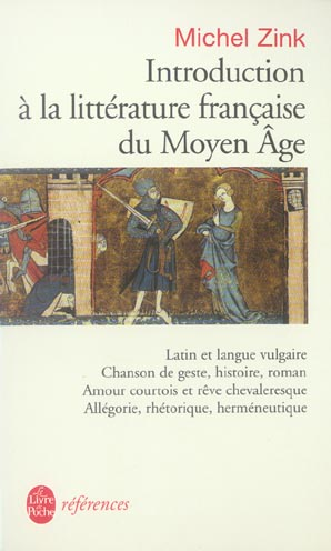 Introduction A La Litterature Francaise Du Moyen Age