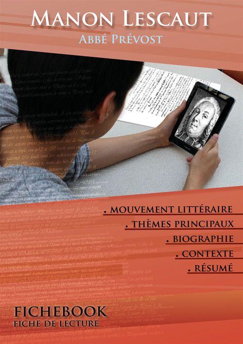Fiche de lecture Manon Lescaut