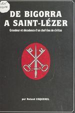 De Bigorra à Saint-Lézer : grandeur et décadence d'un chef-lieu de civitas