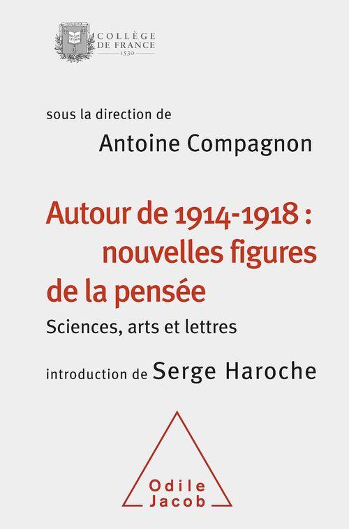 Autour de 1914-1918 : nouvelles figures de la pensée ; sciences, arts et lettres