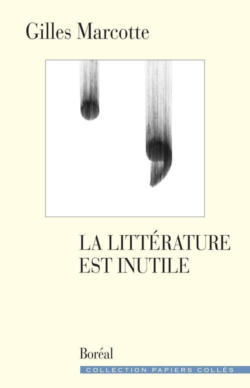 la littérature est inutile