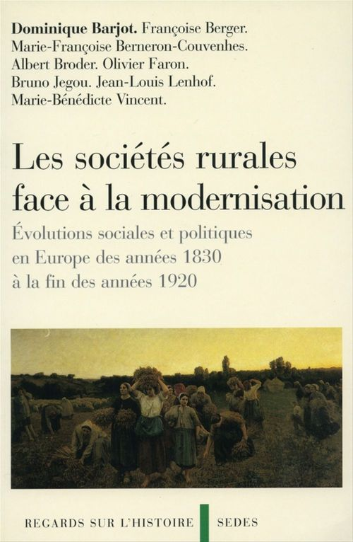 Les sociétés rurales face à la modernisation