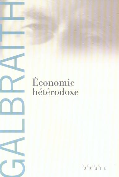 Economie Heterodoxe