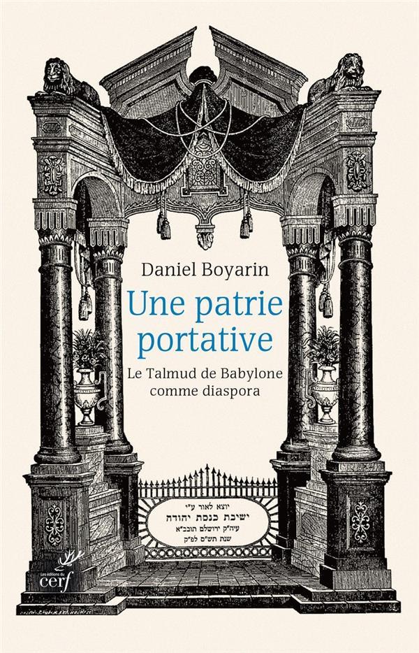 Une patrie portative ; le Talmud de Babylone comme diaspora