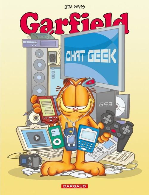 Garfield T.59 ; chat geek