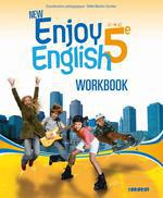 NEW ENJOY ENGLISH ; anglais ; 5ème ; workbook (édition 2012)