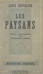 Les paysans  - Louis Chevalier