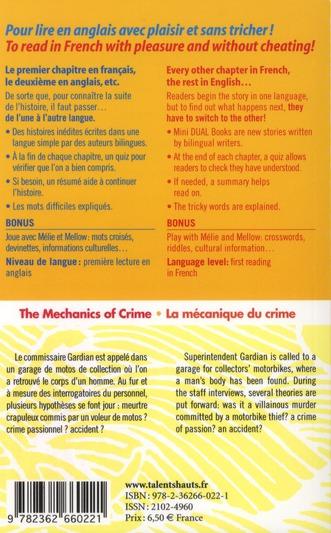 The mechanics of crime ; la mécanique du crime