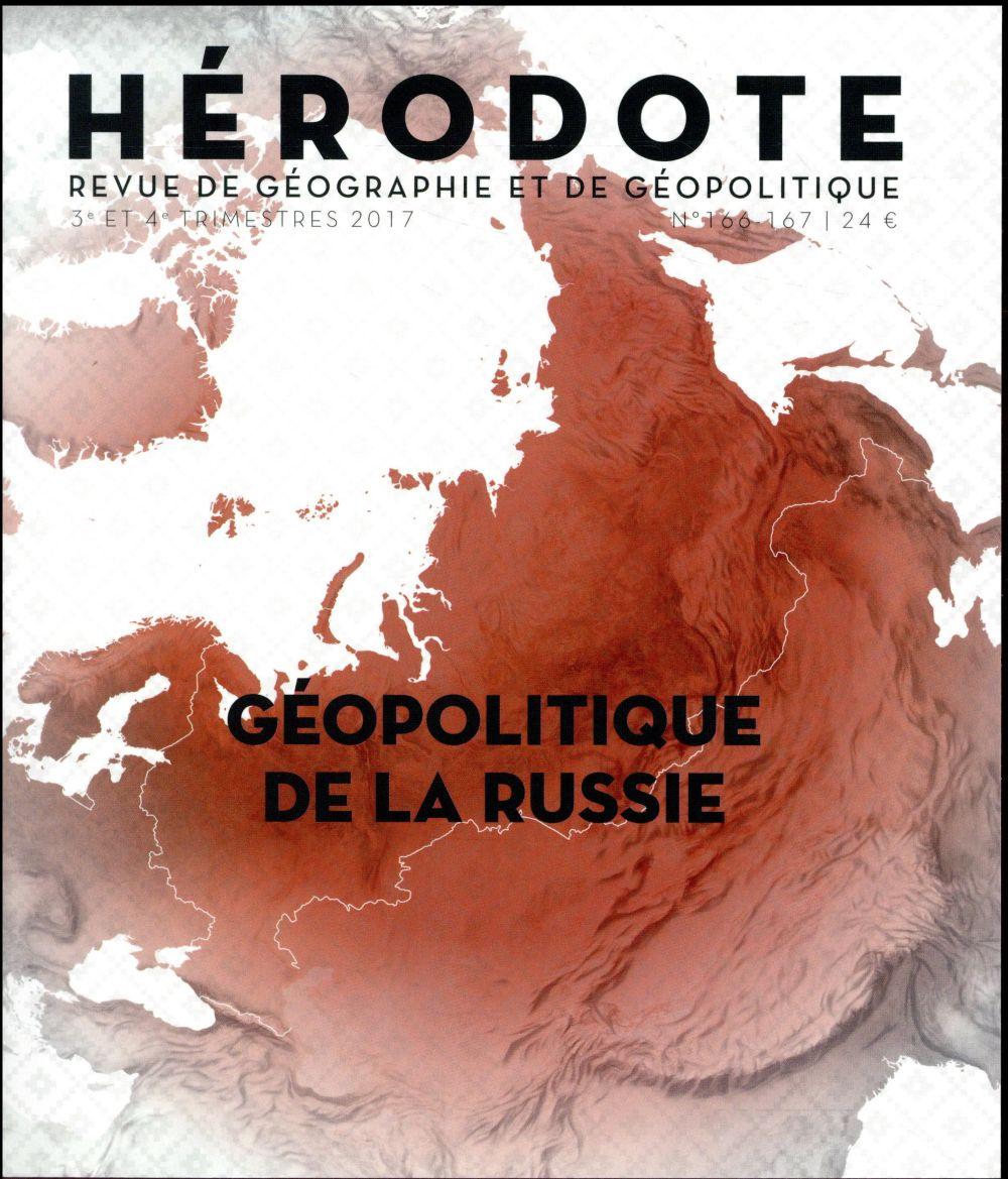 Revue herodote n.166 ; geopolitique de la russie