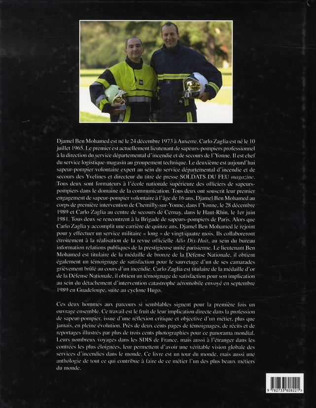 Pompiers du monde ; héros des temps modernes
