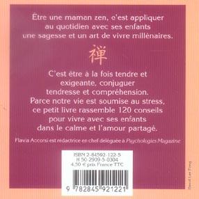 Maman Zen L Harmonie En Famille Flavia Accorsi Presses Du Chatelet Poche Le Hall Du Livre Nancy