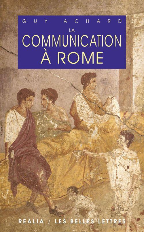 La communication à rome