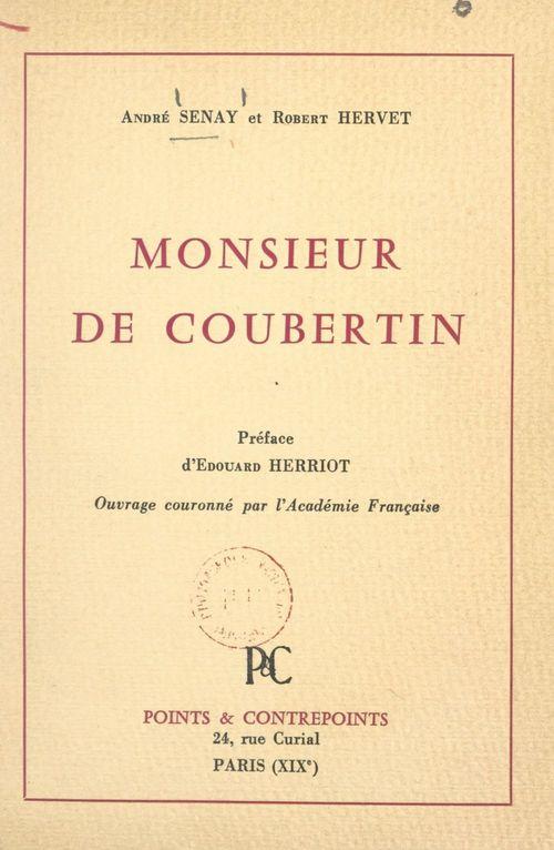 Monsieur de Coubertin