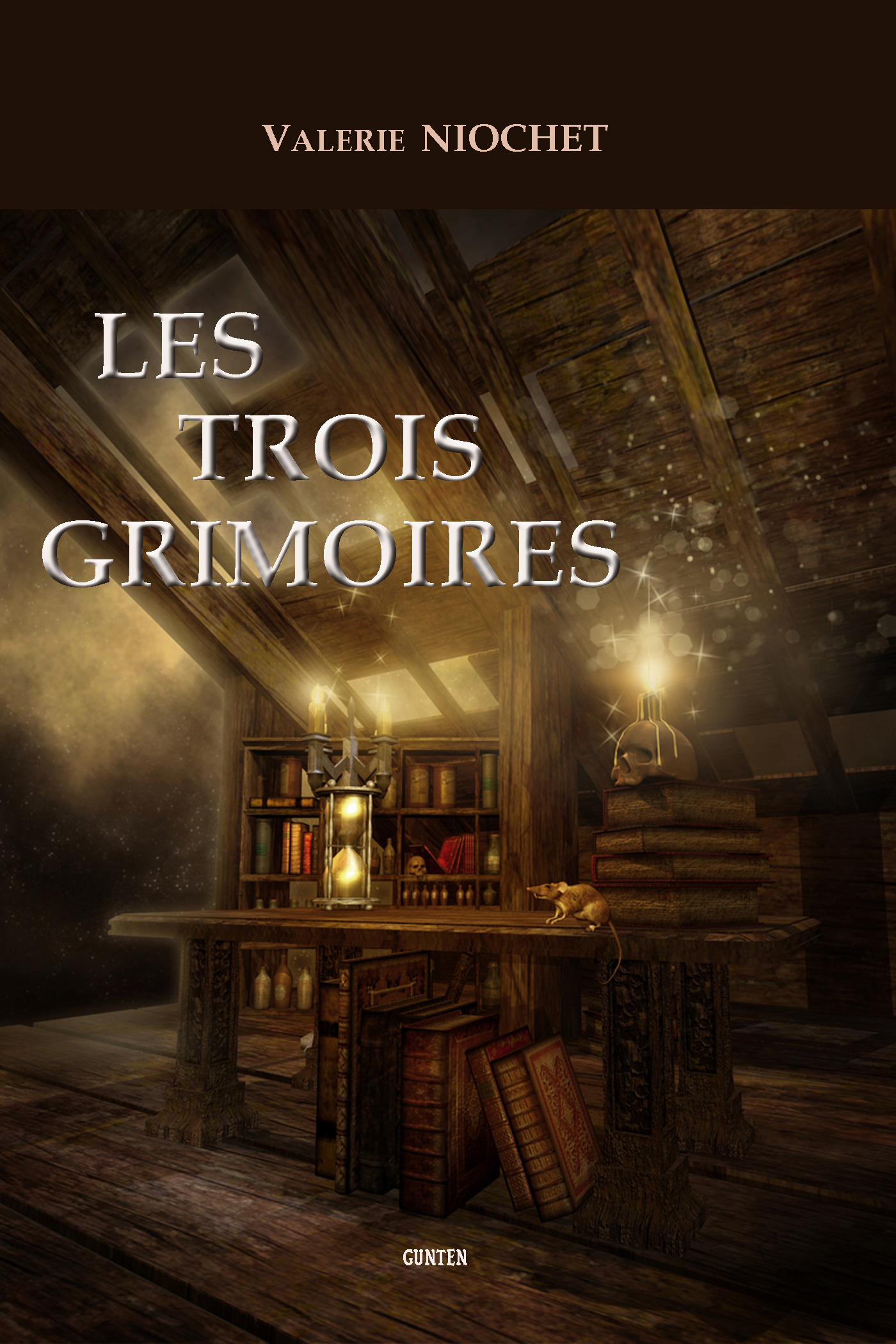 Les trois grimoires  - Valérie Niochet