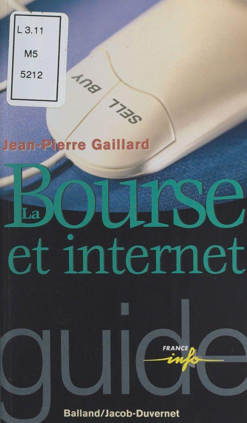 Bourse et internet