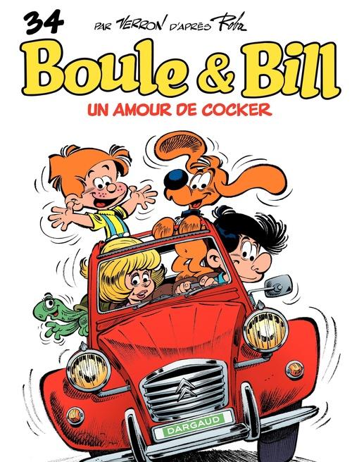 Boule & Bill t.34 ; un amour de cocker