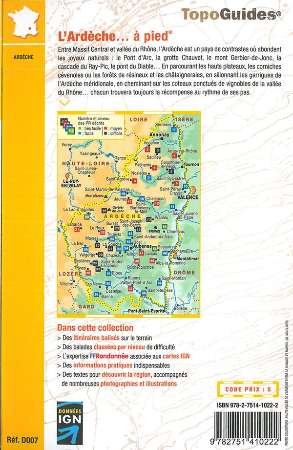 L'Ardèche à pied