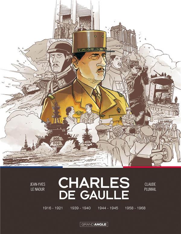 Charles de Gaulle ; INTEGRALE T.1 A T.4 ; 1916-1968