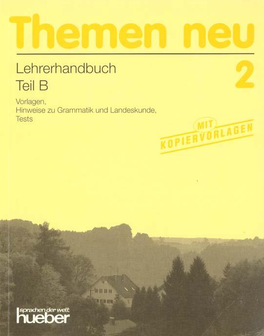 Themen neu 2 ; lehrerhandbuch teil b