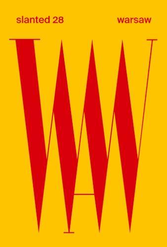 SLANTED n.28 ; warsaw