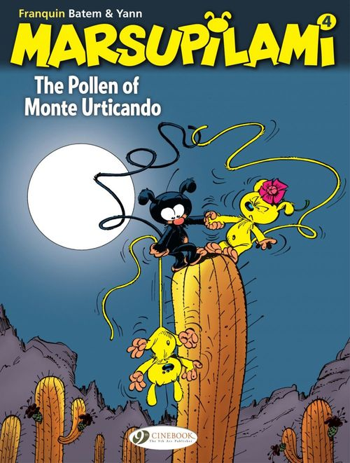 Marsupilami T.4 ; the pollen of Monte Urticando