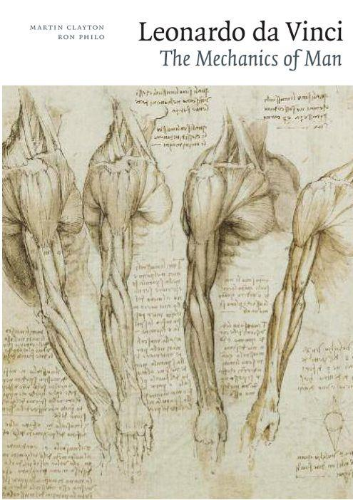 Leonardo da vinci the mechanics of man (hardback)