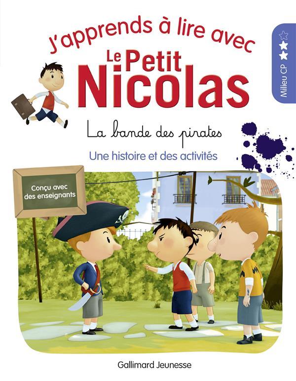 j'apprends à lire avec Le Petit Nicolas t.8