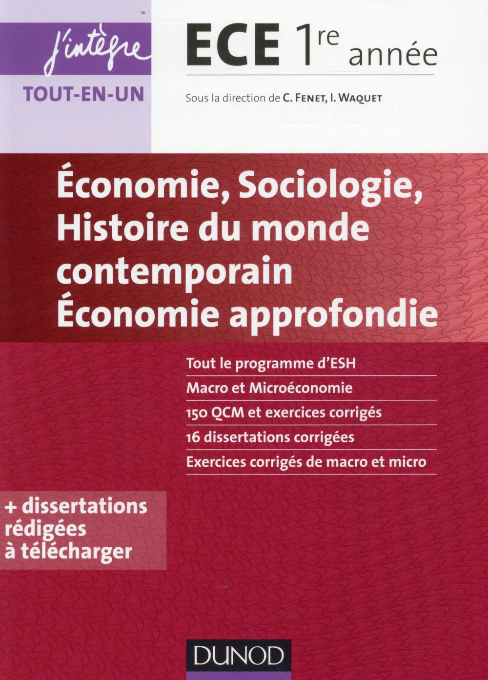 Economie ; Sociologie ; Histoire Des Societes Contemporaines ; Economie Approfondie ; Ece 1