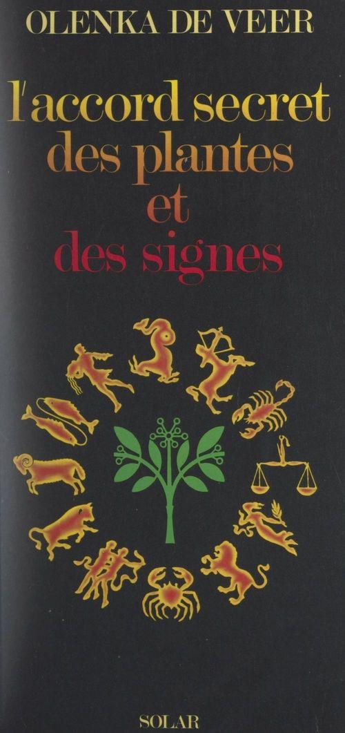 L'accord secret des plantes et des signes