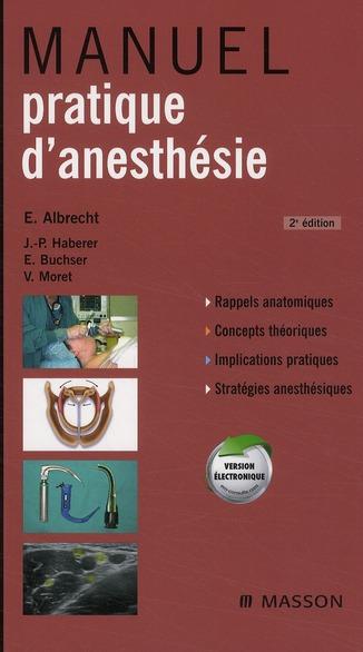 Manuel Pratique D'Anesthesie (2e Edition)
