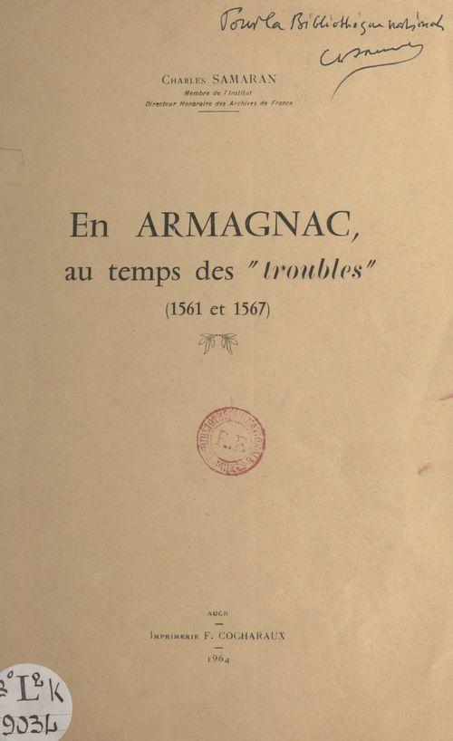 En Armagnac, au temps des