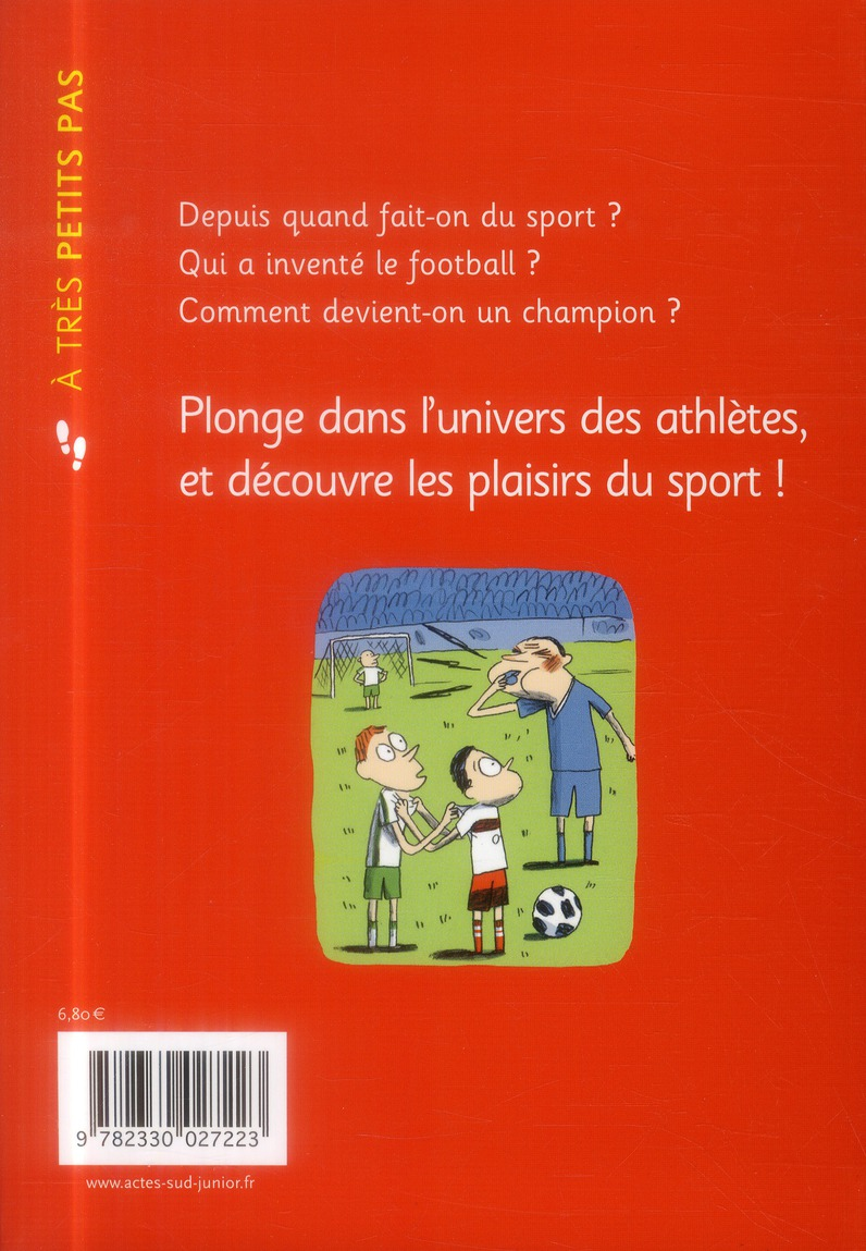 A TRES PETITS PAS ; le sport
