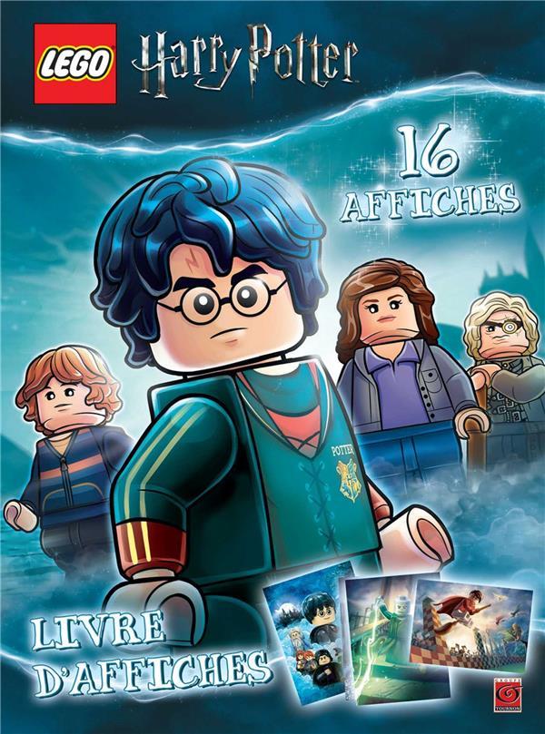 Lego - Harry Potter ; livre d'affiches