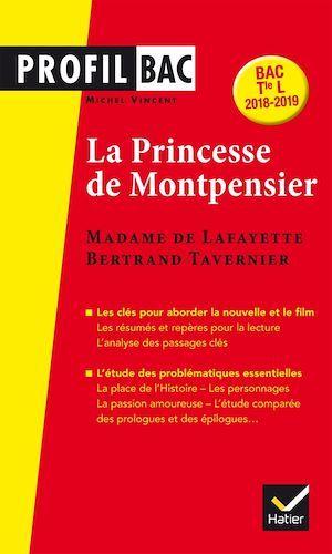 La princesse de Montpensier de Madame de Lafayette (édition 2018)