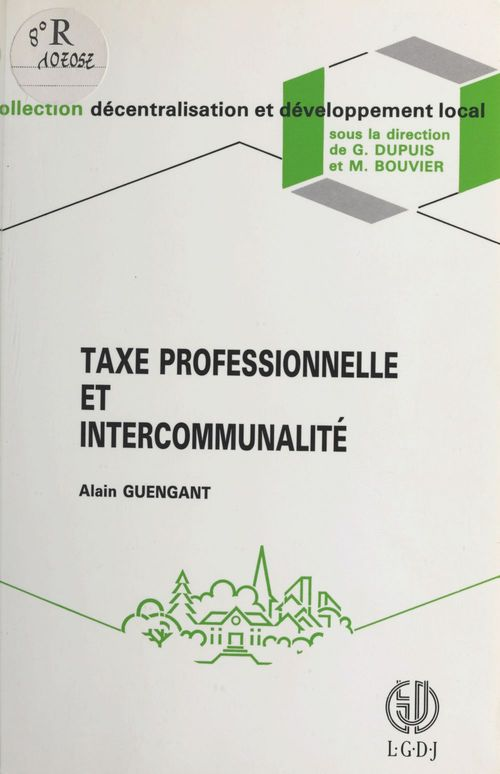 Taxe prof. intercommunalite