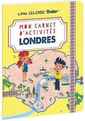 Mon carnet d'activités sur Londres, avec les Little Globe Trotter