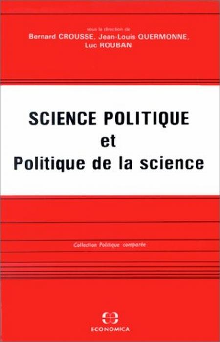 Science politique et politique de la science