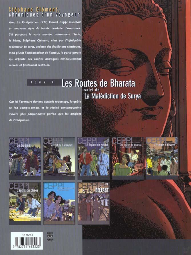 Stéphane Clément, chroniques d'un voyageur T.4 ; les routes de Bharata, la malédiction de Surya