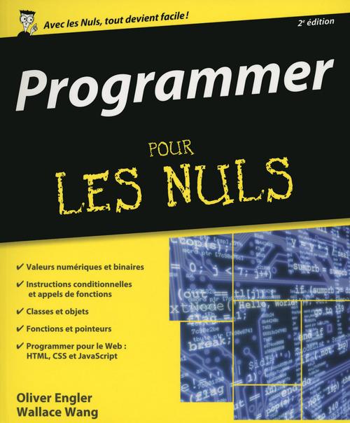 Programmer pour les nuls (2e édition)