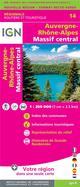 NR14 AUVERGNE-RHONE-ALPES (MASSIF CENTRAL)  1250