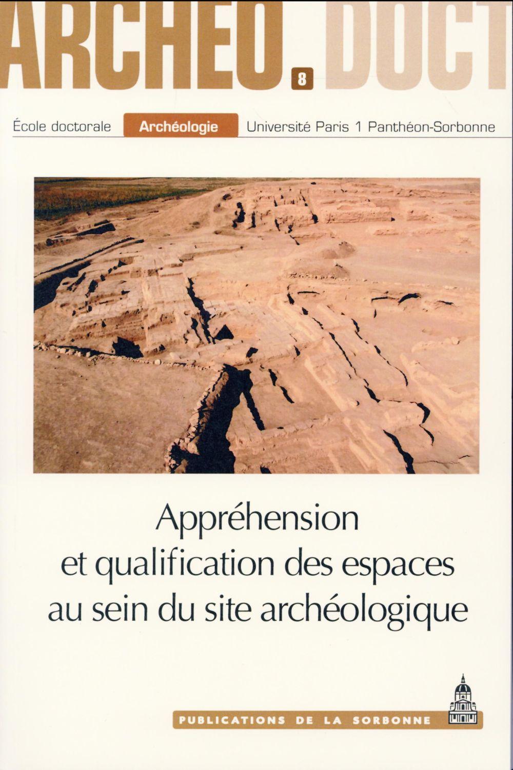 Apprehension et qualification des espaces au sein du site archeologique