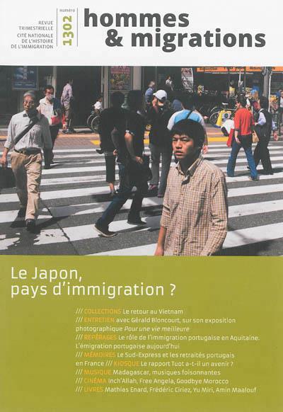 Hommes & migrations n.1302 ; le japon, pays d'immigration ?