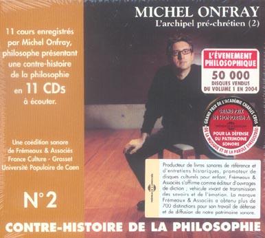 CONTRE-HISTOIRE DE LA PHILOSOPHIE T.2