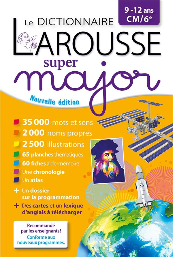 Le dictionnaire Larousse super major