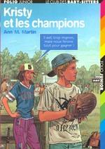 Couverture de Le club des baby-sitters t.20 ; kristy et les champions