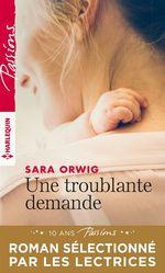 Vente EBooks : Une troublante demande  - Sara Orwig