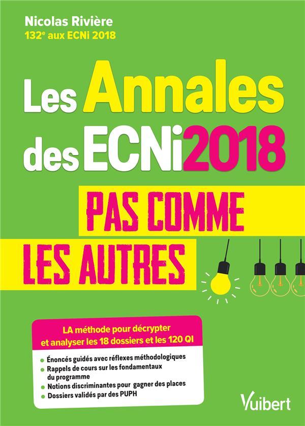 Les annales des ECNi ; pas comme les autres (édition 2018)