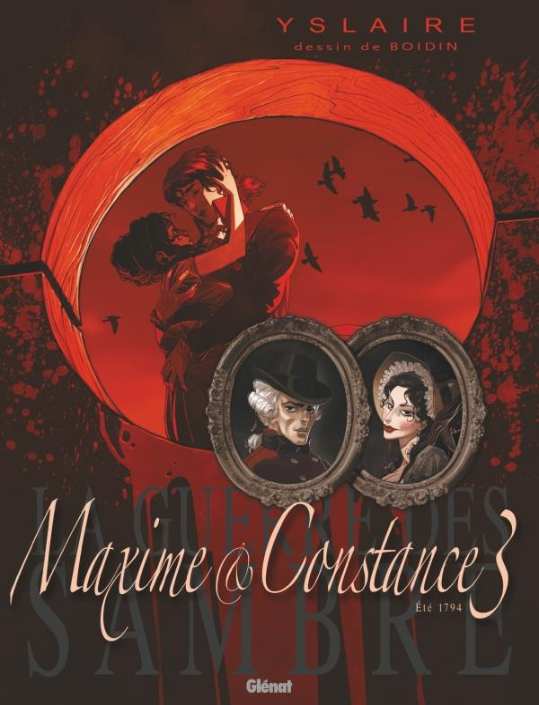 la guerre des Sambre - Maxime et Constance t.3 ; le regard de la veuve